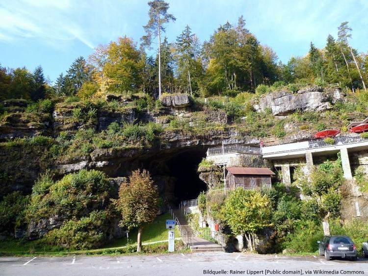 Eingang der Teufelshöhle Pottenstein